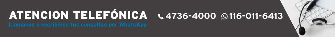 Atención telefónica FOSCHIA Tel: 4673-4000