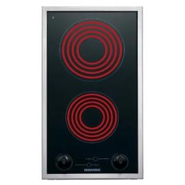 Anafe Domec Euromatic Elect 2 Puntos De Coccion Vitro Gc30