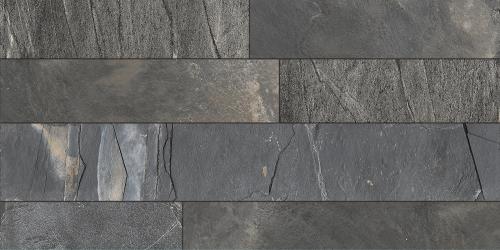 Porcelanato Cerro Negro 60X120 Rodas Grafito Rectificado