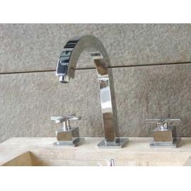 Griferia Importada Lavatorio Cromo (Jz1140)