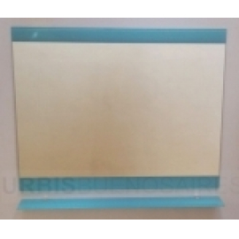 Espejo De Baño Urbis Fun Turquesa C/Estante 60X76 Ev F60 Vt
