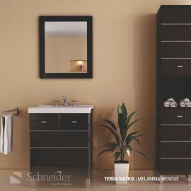 Mueble De Baño Sin Mesada Schneider Matrix 50 Wenge V50Tmw
