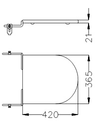 Accesorio Baño Ferrum Tapa Bidet Quibiq Trb3