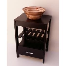 Mueble De Baño Urbis Eco C/Tapa Wenge Vl Eco50Wt