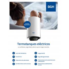 Termotanque Electrico Digital Bgh 80L - Bte - 080Cm15Ec
