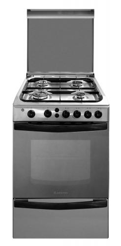 Cocina A Gas Ariston 4 Hornallas 55 Cm Cg54Sg1M(X)