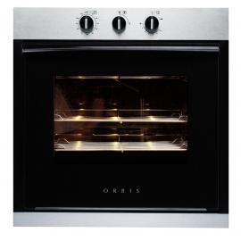 Horno Orbis A Gas Con Grill Acero/Negro 960Apo