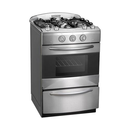Cocina Domec Next Line Ii Multigas Acero Inox Cxnnfv