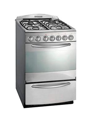 Cocina Domec Multigas 4 Hornallas 56Cm Next Line Cxnfv