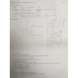 Ducha De Pared Con Duchador Reflex Sl090C C/Luz Led