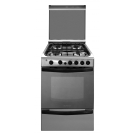 Cocina A Gas Ariston 4 Hornallas Cg54Sg1H(X)Gh