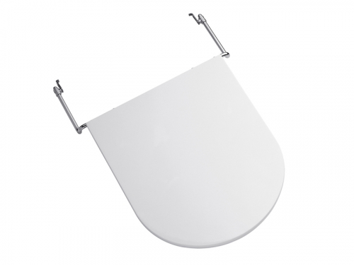 Accesorio Ferrum Qubiq Tapa Para Bidet Uf(Urea) Blanco