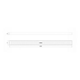 Rejilla Desague Tramontina Slim 1000X70 Lineal 94535/110